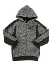 NOTHIN' BUT NET - Sherpa Lined Fleece Jacket (8-20)-2313679