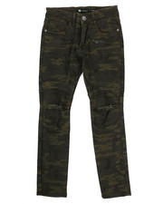 Bottoms - Ripped Knee Camo Jeans (8-20)-2317073