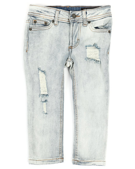 Buffalo - 5 Pocket Skinny Fit Denim Jeans (2T-4T)