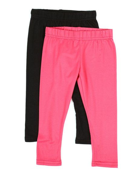 ad2b2823a9bdf Buy 2 Pack Solid Capri Leggings (2T-4T) Girls Bottoms from La ...