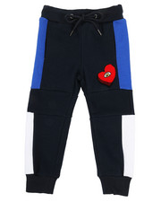 Sizes 2T-4T - Toddler - Color Block Jogger w/ Chenille Accent (2T-4T)-2315650