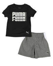 Puma - Performance Tee & Shorts Set (2T-4T)-2313143