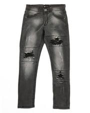 Jeans - Basic Denim Jeans w/ Rip & Repair Detail (8-20)-2317065