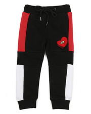 Sizes 2T-4T - Toddler - Color Block Jogger w/ Chenille Accent (2T-4T)-2313697