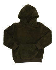 NOTHIN' BUT NET - Cozy Sherpa Hoodie (8-20)-2313664