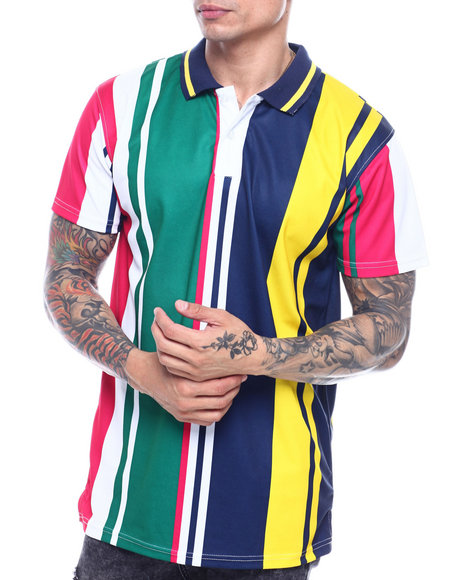 Buyers Picks - VERTICAL STRIPE POLO