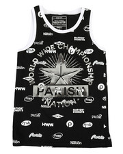 Boys - All Over Printed Tank Top (8-20)-2316521