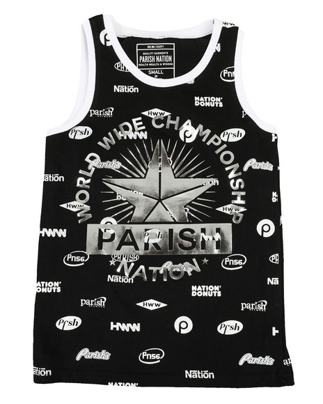Parish - All Over Printed Tank Top (8-20)