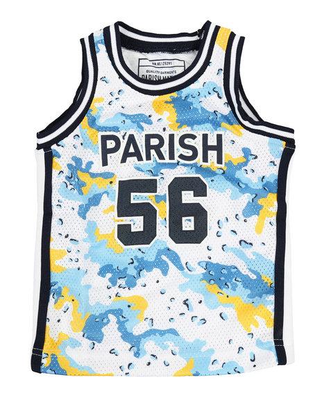 Parish - Camo Print Tank Top (2T-4T)