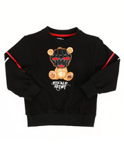 Sizes 2T-4T - Toddler - Sweatshirt W/ Embroidery Patch (2T-4T)-2313777