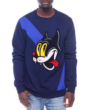 Sweatshirts & Sweaters - Silly Cat Cut and Sew Crewneck Sweatshirt-2318098