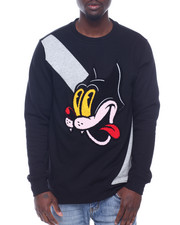 Sweatshirts & Sweaters - Silly Cat Cut and Sew Crewneck Sweatshirt-2318105