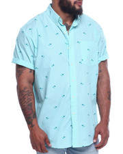 Button-downs - Easycare Palm Tree Print (B&T)-2316188