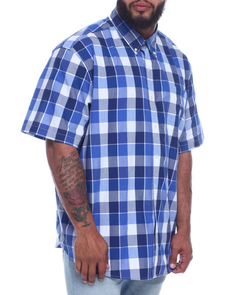 Chaps - Performance Easycare ZTRA-LRG Graphic Check (B&T)