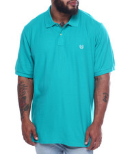 Chaps - Chaps Solid Pique Polo (B&T)-2316181