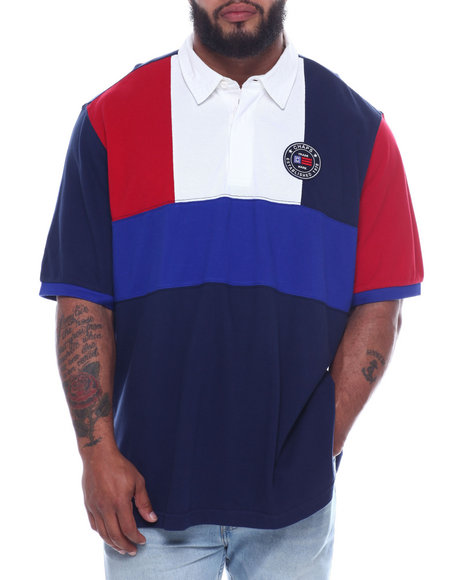 Chaps - Iconic Heritage Pieced Polo (B&T)