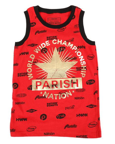 Parish - All Over Printed Tank Top (8-20)
