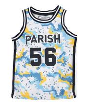 Parish - Camo Print Tank Top (4-7)-2316421