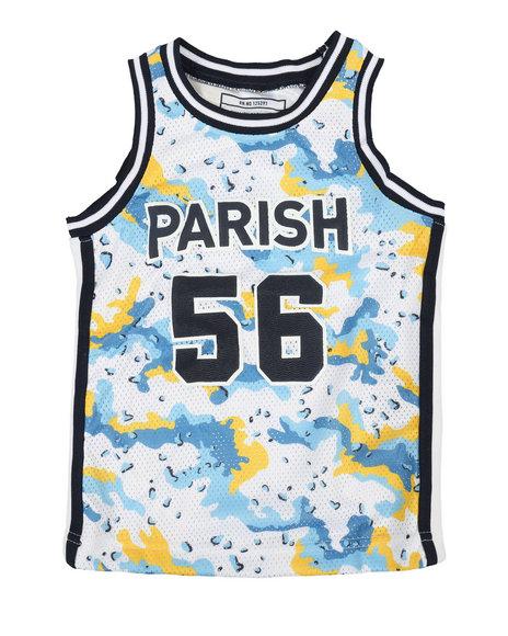 Parish - Camo Print Tank Top (4-7)