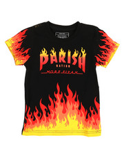 Boys - On Fire Printed Graphic Tee (4-7)-2316213