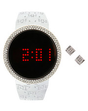 Accessories - Touch Screen Watch & Earrings Gift Set-2313600