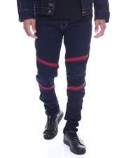 Jeans & Pants - Moto Knit Ribbed Insert Jean-2318178