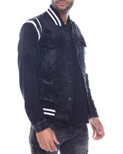 Jordan Craig - Varsity Denim Jacket-2319002