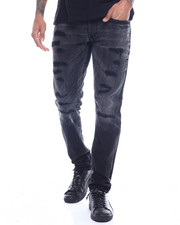 Jordan Craig - BLACK WASH Distressed Jean-2319019
