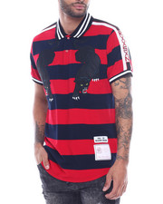 Short-Sleeve - STRIPED PANTHER POLO-2318850