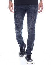 Jeans - Worn Out Knee Jean-2318902
