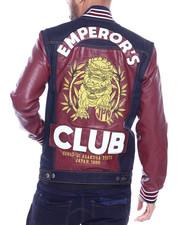 Iroochi - Emperors Denim Varsity Jacket-2318238