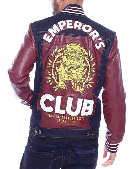 Iroochi - Emperors Denim Varsity Jacket