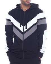 Hoodies - COLORBLOCK TECH FLEECE HOODY-2316845