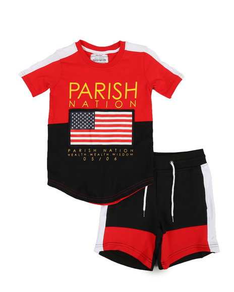 Parish - Americana Sport 2 Piece Short Set (4-7)