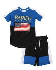 Sets - Americana Sport 2 Piece Short Set (4-7)-2317126