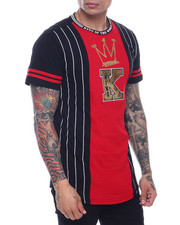 SWITCH - King Stripe Scallop Tee-2319146