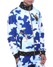 Outerwear - Camo Track Jacket-2319087