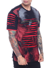 SWITCH - tie dyed razor slash tee-2319205