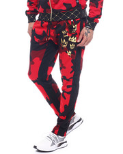SWITCH - Camo Track Pant-2319056