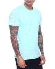 SWITCH - Striped Tee w Razor Slash Sleeves-2319152