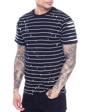 SWITCH - Striped Tee w Razor Slash Sleeves-2319158