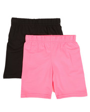 Bottoms - 2 Pack Bike Shorts (2T-4T)-2315559