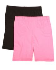 Girls - 2 Pack Bike Shorts (7-16)-2315563