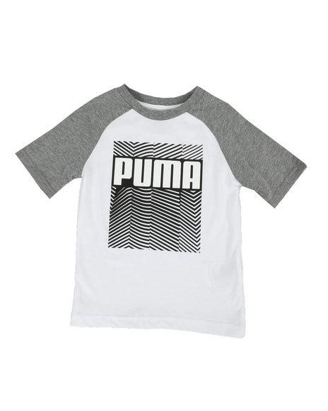 Puma - Raglan Graphic Tee (4-7)