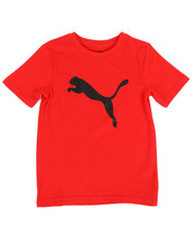 Tops - Puma Cat Logo Tee (8-20)-2317683