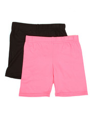 Bottoms - 2 Pack Bike Shorts (4-6X)-2316328