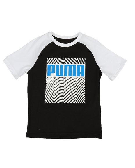 Puma - Raglan Graphic Tee (8-20)