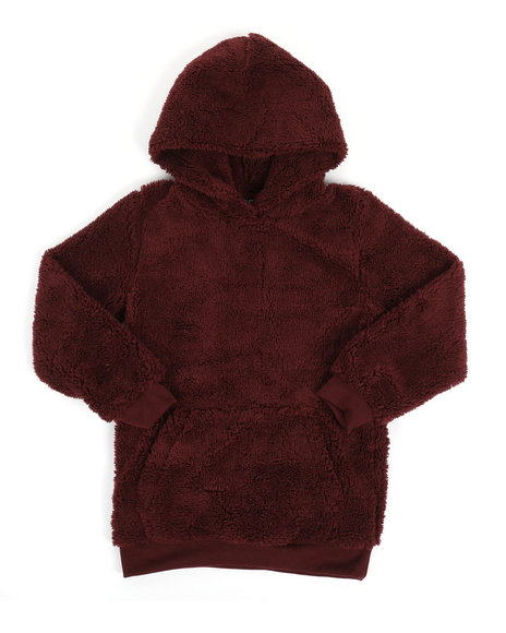 NOTHIN' BUT NET - Cozy Sherpa Hoodie (8-20)