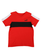 Tops - Color Blocked Pieced Tee (4-7)-2318373