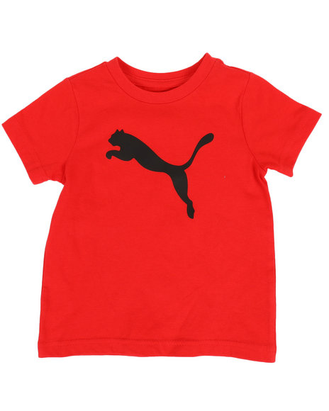 Puma - Puma Cat Logo Tee (4-7)